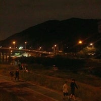Photo taken at 안양천 산책로 by elly on 9/28/2011