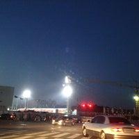 Photo taken at Mudeung Baseball Stadium by Dianne C. on 9/5/2012