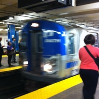 Photo taken at 33rd St PATH Station by Ryan A. on 6/13/2012