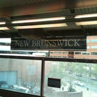 Photo taken at NJT - New Brunswick Station (NEC) by Tyler B. on 9/17/2011
