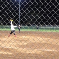 Photo taken at Freedom Park - DF Softball by shad s. on 4/15/2012