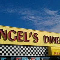 Photo taken at Angel's Diner by Jenn W. on 8/20/2011
