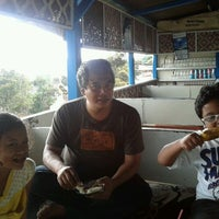 Photo taken at Jagung Bakar & Sate Kelinci by Agnes P. on 12/17/2011