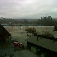 Photo taken at Minera Valle Central by Rodrigo T. on 9/4/2012