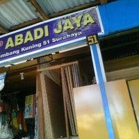Photo taken at Toko Abadi Jaya (bangunan) by Navy N. on 9/12/2012