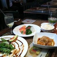 Photo taken at Mompou Tapas Bar & Lounge by Claudia on 10/6/2011