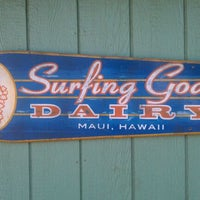 Photo taken at Surfing Goat Dairy by Chris M. on 1/21/2012