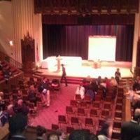 Photo taken at Humphrey Scottish Rite Masonic Center by Janine M. on 12/17/2011