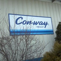 Photo taken at Con	Way Freight by Ryan H. on 1/12/2012