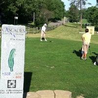 Photo taken at Cascades Golf Course by Jennifer D. on 6/14/2012