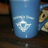 Photo taken at Carolina's Diner by Isaac B. on 10/23/2011