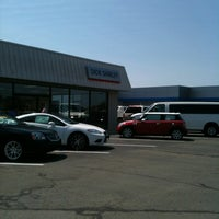 Photo taken at Dick Shirley Chevrolet Cadillac by Paola M. on 6/28/2012