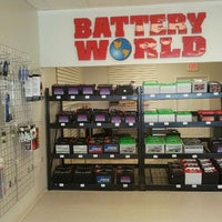 Photo taken at Battery World by Alex F. on 7/8/2011