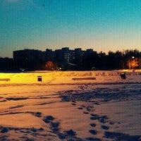 Photo taken at Зарёвское озеро by Roger R. on 3/2/2012