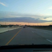 Photo taken at President George Bush Turnpike (PGBT) by Donna G. on 1/11/2012