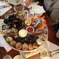 Photo taken at Wright Brothers Oyster & Porter House by Funda C. on 12/10/2011