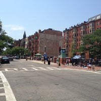 Photo taken at Newbury Street by Andrew F. on 7/14/2012