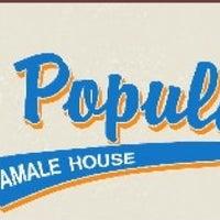 Photo taken at La Popular Tamale House by La Popular T. on 8/25/2011