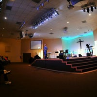 Photo taken at West Pines Community Church by Matt M. on 1/24/2011