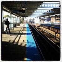 Photo taken at CTA - Western by Erik James A. on 10/22/2011
