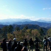 Photo taken at Top of Mt. Takao by つかぽん on 11/26/2011