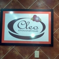 Photo taken at Cleo CHOCOLATIQUÉ by Pia S. on 12/23/2011