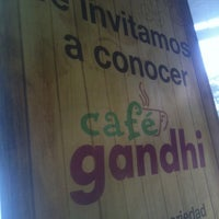 Photo taken at Gandhi by Antonio V. on 5/27/2012