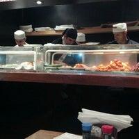 Photo taken at Yosuki Sushi House by Pedro B. on 6/12/2012