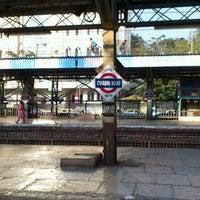 Photo taken at Charni Road Railway Station by Saif K. on 1/30/2012