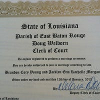 Photo taken at Baton Rouge City Court by Jacklyn M. on 1/12/2012