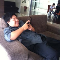 Photo taken at Lounge BINUS University by ryan n. on 1/14/2012
