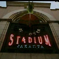 Photo taken at Stadium Jakarta by natha w. on 8/25/2012