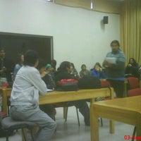 Photo taken at Facultad de Ciencias Empresariales by Cristóbal Patricio G. on 9/3/2012