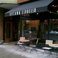 Photo taken at Uptown Espresso by andrew c. on 11/26/2011