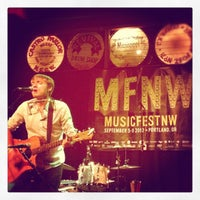 Photo taken at Mississippi Studios by Justin M. on 9/9/2012
