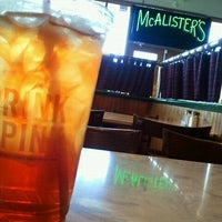 Photo taken at McAlisters Deli by Cassidy C. on 10/13/2011