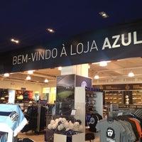 Photo taken at Loja Azul Oficial FC Porto by Jose G. on 6/29/2012