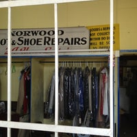Photo taken at Norwood Boot & Shoe Dry Cleaners by Shaun B. on 4/5/2012