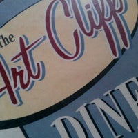 Photo taken at The Art Cliff Diner by Eric W. on 9/30/2011