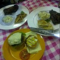 Photo taken at Mustafa Jones Burger by 🌸Zaza N. on 2/29/2012
