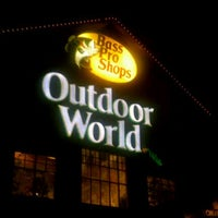 Photo taken at Bass Pro Shops Outdoor World by April T. on 12/9/2011