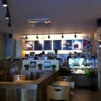 Photo taken at EDIYA COFFEE by gloria C. on 3/11/2011