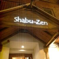 Photo taken at Shabu Zen by Motohiro K. on 3/24/2012
