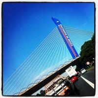 Foto tirada no(a) Viaduto Cidade de Guarulhos por Miguel M. em 2/28/2012