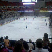 Photo taken at Cajundome & Convention Center by Sarajane H. on 3/3/2012