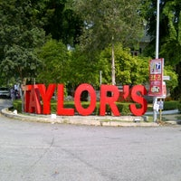Photo taken at Taylor's College Subang Jaya by brendan on 9/1/2012