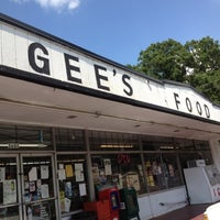 Photo taken at Gees Food Store by Graham on 7/30/2012
