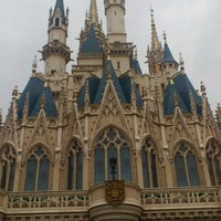 Photo taken at Cinderella Castle by Soyoung L. on 10/15/2011