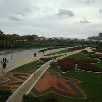 Photo taken at Madrid Río (Sector Central) by María O. on 11/13/2011