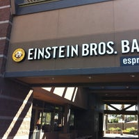 Photo taken at Einstein Bros Bagels by Jeffrey S. on 5/27/2011